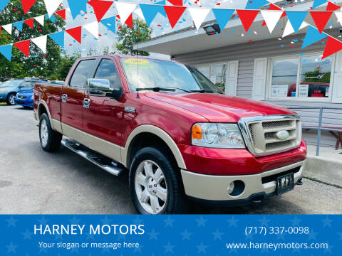 2007 Ford F-150 for sale at HARNEY MOTORS in Gettysburg PA