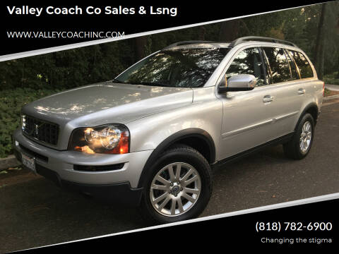 2008 Volvo XC90 for sale at Valley Coach Co Sales & Lsng in Van Nuys CA
