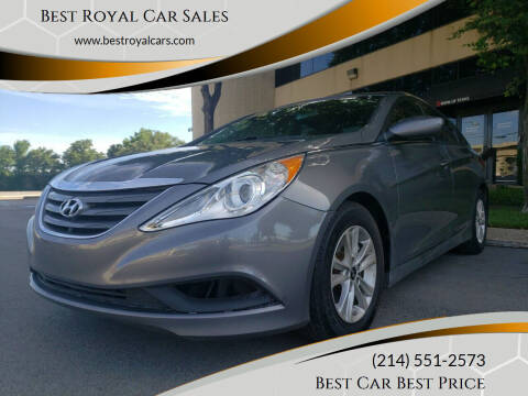 2014 Hyundai Sonata for sale at Best Royal Car Sales in Dallas TX