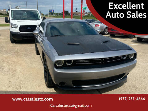 2015 Dodge Challenger for sale at Excellent Auto Sales in Grand Prairie TX