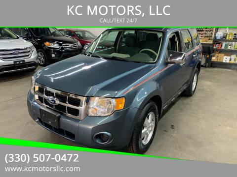 2011 Ford Escape for sale at KC MOTORS, LLC in Boardman OH