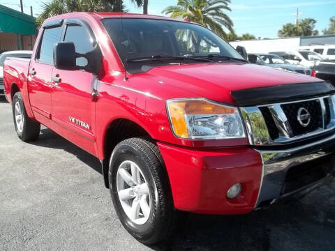 2011 Nissan Titan for sale at PJ's Auto World Inc in Clearwater FL