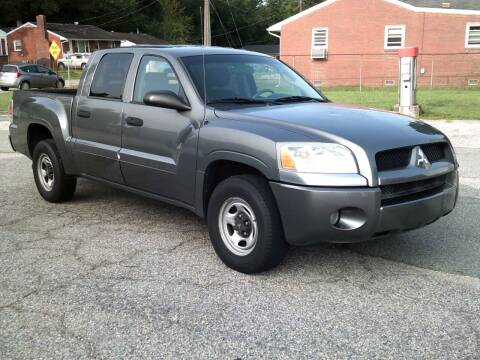 2007 Mitsubishi Raider for sale at Wamsley's Auto Sales in Colonial Heights VA
