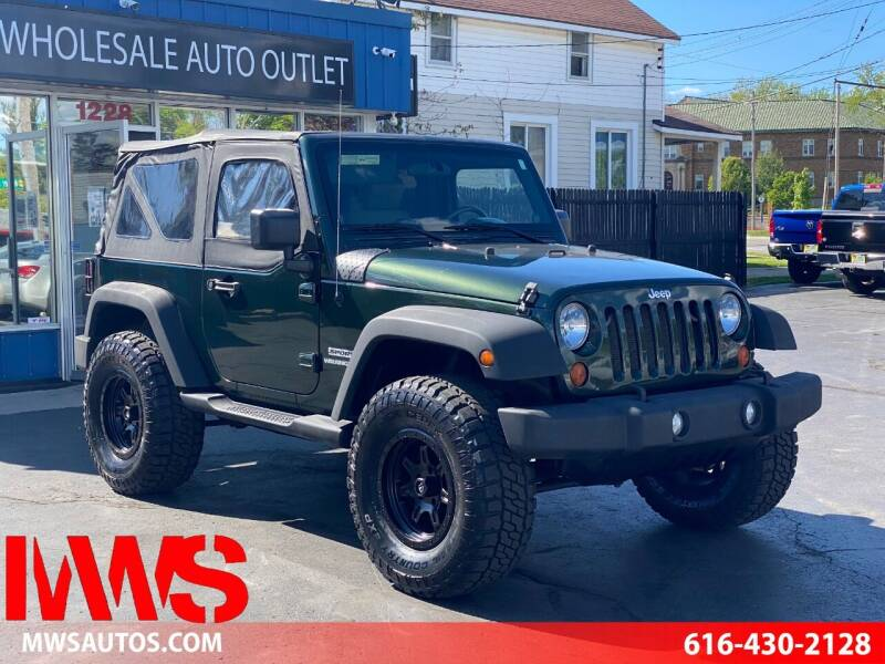 2010 Jeep Wrangler for sale at MWS Wholesale  Auto Outlet in Grand Rapids MI