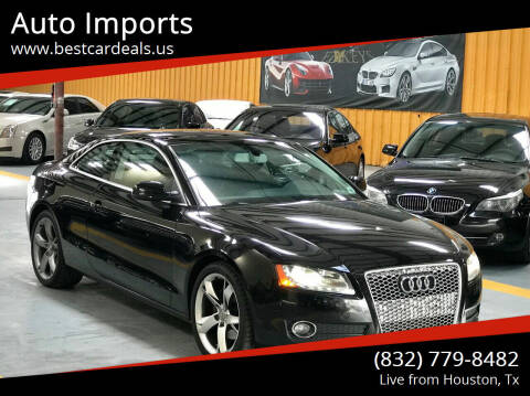 2010 Audi A5 for sale at Auto Imports in Houston TX