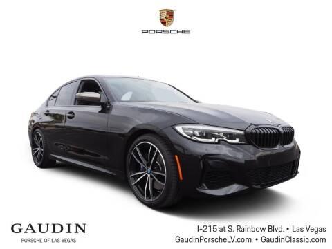 2020 BMW 3 Series for sale at Gaudin Porsche in Las Vegas NV