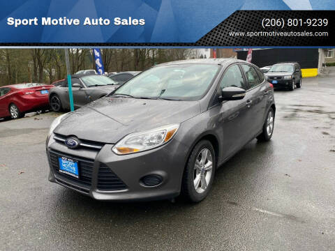 2013 Ford Focus for sale at Sport Motive Auto Sales in Seattle WA