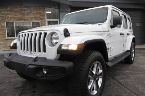 2020 Jeep Wrangler Unlimited for sale at Eddie Auto Brokers in Willowick OH