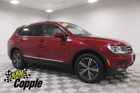 2018 Volkswagen Tiguan for sale at Copple Chevrolet GMC Inc in Louisville NE