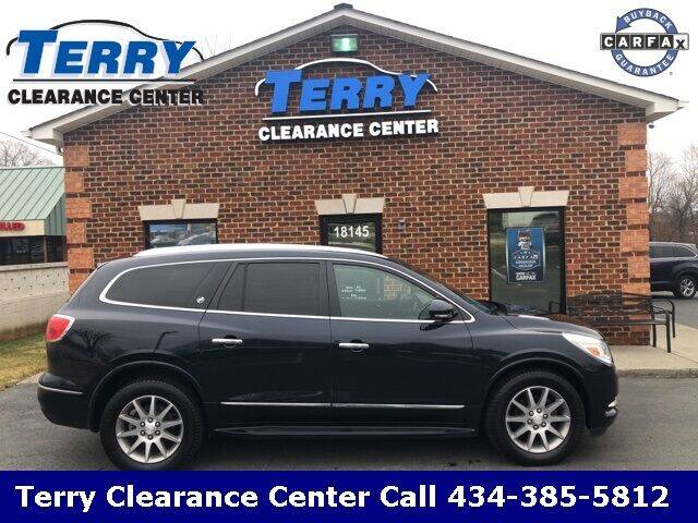 2016 Buick Enclave for sale at Terry Clearance Center in Lynchburg VA