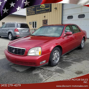 2003 Cadillac DeVille for sale at Discount Motor Sales inc. in Ludlow MA