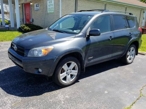 2007 Toyota RAV4 for sale at Ace Motors in Saint Charles MO