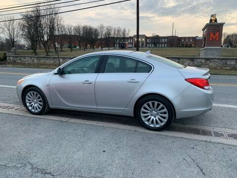 2011 Buick Regal for sale at GET N GO USED AUTO & REPAIR LLC in Martinsburg WV