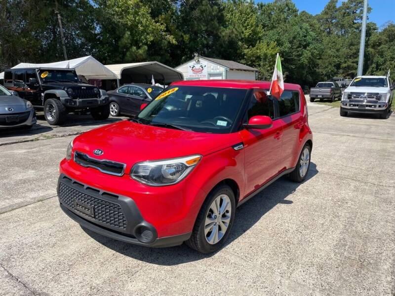 2015 Kia Soul for sale at AUTO WOODLANDS in Magnolia TX