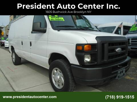 2013 Ford E-Series Cargo for sale at President Auto Center Inc. in Brooklyn NY