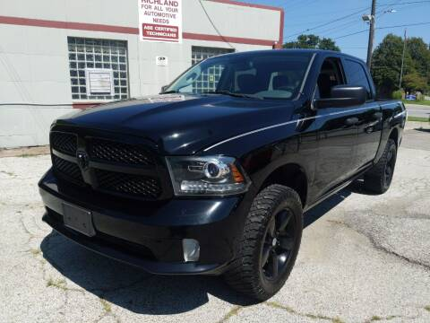 2014 RAM Ram Pickup 1500 for sale at Richland Motors in Cleveland OH