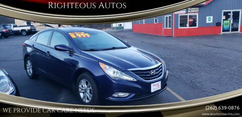 2013 Hyundai Sonata for sale at Righteous Autos in Racine WI