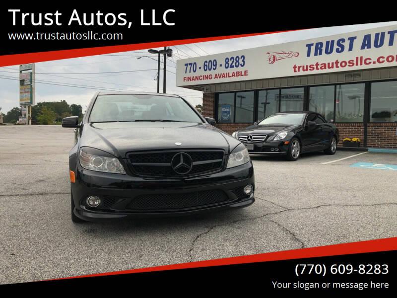 2010 Mercedes-Benz C-Class for sale at Trust Autos, LLC in Decatur GA