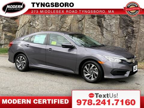 2018 Honda Civic for sale at Modern Auto Sales in Tyngsboro MA