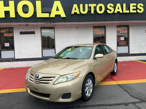 2011 Toyota Camry for sale at HOLA AUTO SALES CHAMBLEE- BUY HERE PAY HERE - in Atlanta GA