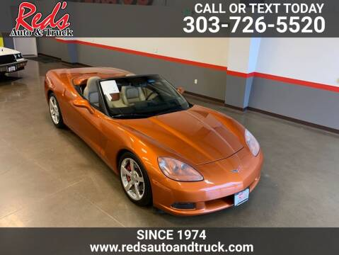 2008 Chevrolet Corvette for sale at Red's Auto and Truck in Longmont CO