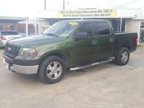 2005 Ford F-150 for sale at Taylor Trading Co in Beaumont TX