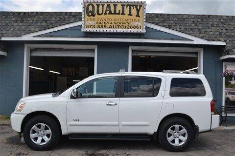 2007 Nissan Armada for sale at Quality Pre-Owned Automotive in Cuba MO