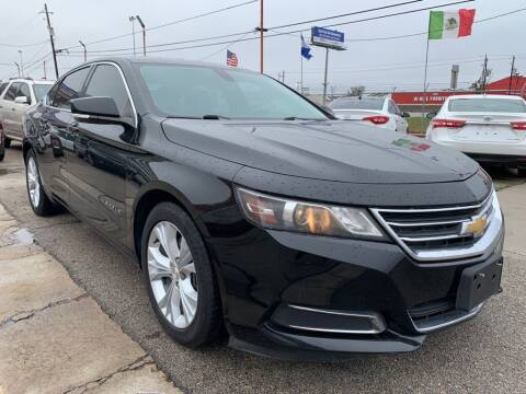 2015 Chevrolet Impala for sale at JAVY AUTO SALES in Houston TX