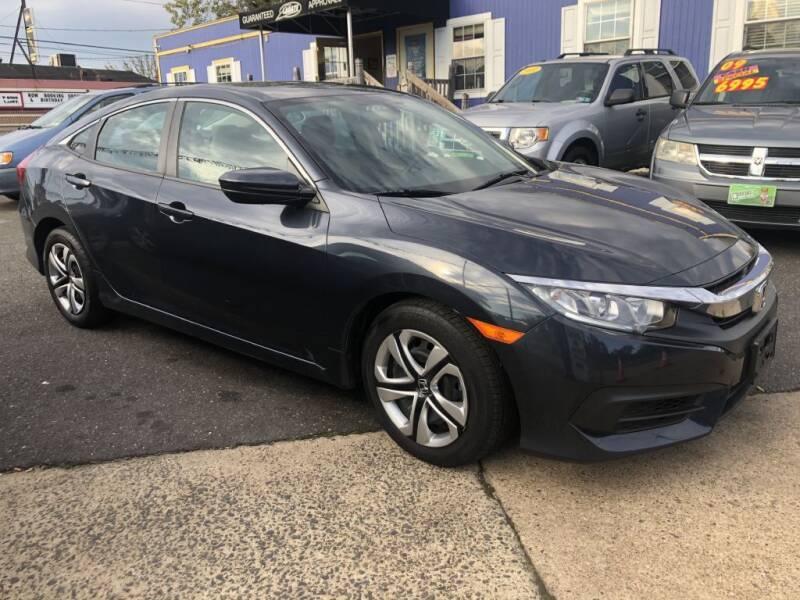 2017 Honda Civic for sale at LaBate Auto Sales Inc in Philadelphia PA