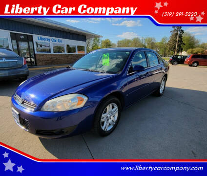 2006 Chevrolet Impala for sale at Liberty Car Company in Waterloo IA