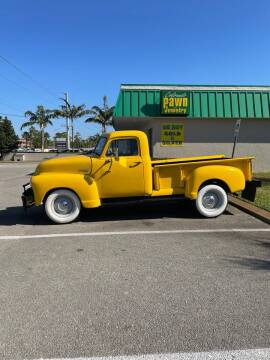1951 Chevrolet 3100 for sale at American Classics Autotrader LLC in Pompano Beach FL