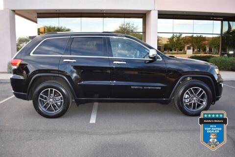 2018 Jeep Grand Cherokee for sale at GOLDIES MOTORS in Phoenix AZ