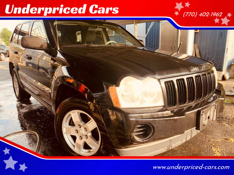 2005 Jeep Grand Cherokee for sale at Underpriced Cars in Marietta GA