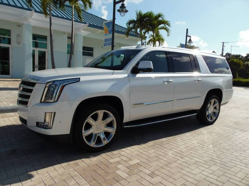 2018 Cadillac Escalade ESV for sale in West Palm Beach, FL