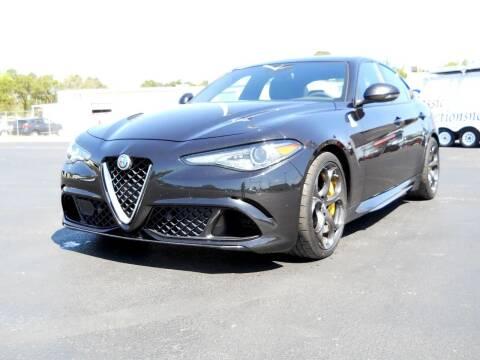 2017 Alfa Romeo Giulia Quadrifoglio for sale at Classic Connections in Greenville NC
