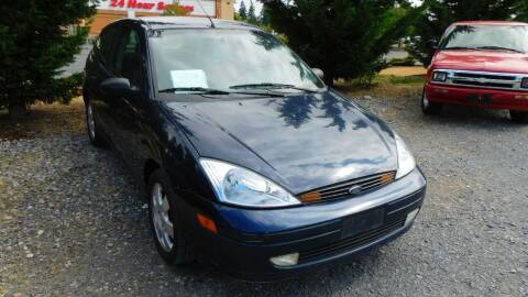 2002 Ford Focus for sale at M & M Auto Sales LLc in Olympia WA