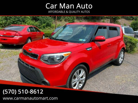 2015 Kia Soul for sale at Car Man Auto in Old Forge PA