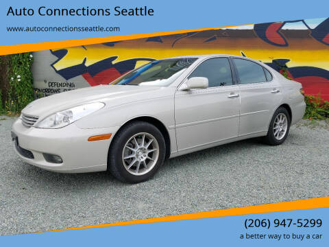 2002 Lexus ES 300 for sale at Auto Connections Seattle in Seattle WA