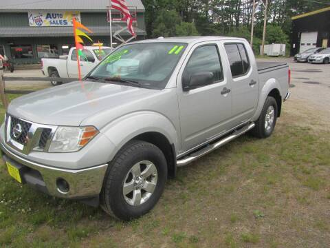 2011 Nissan Frontier for sale at Jons Route 114 Auto Sales in New Boston NH