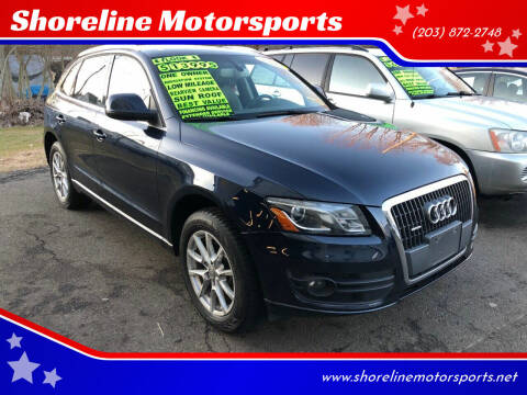 2011 Audi Q5 for sale at Shoreline Motorsports in Waterbury CT