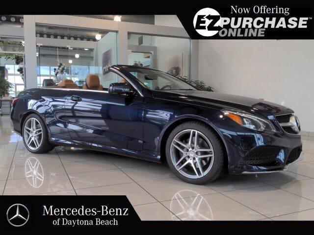 2016 Mercedes-Benz E-Class for sale at Mercedes-Benz of Daytona Beach in Daytona Beach FL