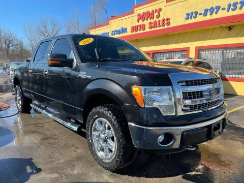 2013 Ford F-150 for sale at Popas Auto Sales in Detroit MI