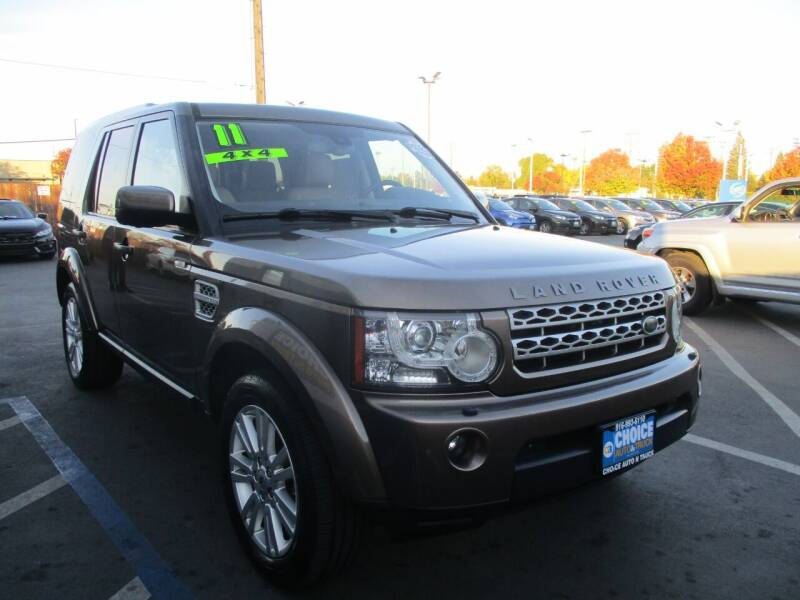 2011 Land Rover LR4 for sale at Choice Auto & Truck in Sacramento CA