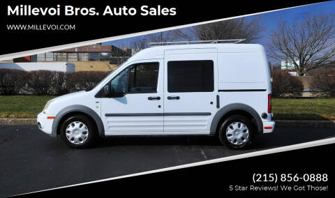 2010 Ford Transit Connect for sale at Millevoi Bros. Auto Sales in Philadelphia PA