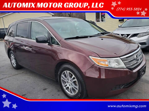 2012 Honda Odyssey for sale at AUTOMIX MOTOR GROUP, LLC in Swansea MA