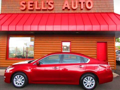 2015 Nissan Altima for sale at Sells Auto INC in Saint Cloud MN
