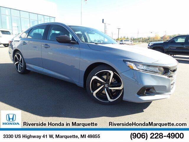 2021 Honda Accord for sale in Marquette, MI
