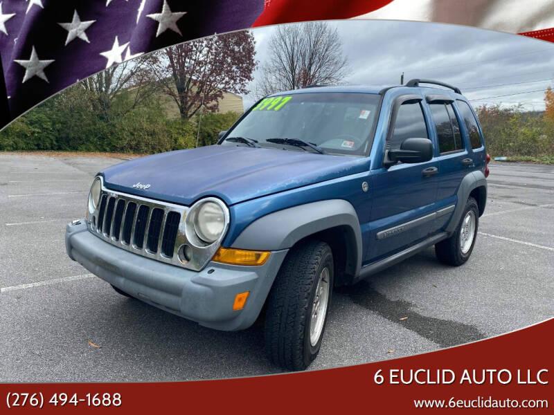 2005 Jeep Liberty for sale at 6 Euclid Auto LLC in Bristol VA