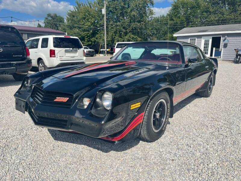 1980 Chevrolet Camaro for sale at Davidson Auto Deals in Syracuse IN