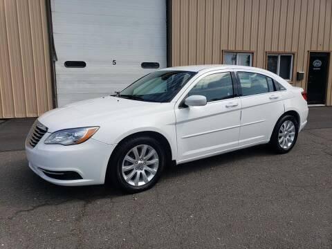 2013 Chrysler 200 for sale at Massirio Enterprises in Middletown CT